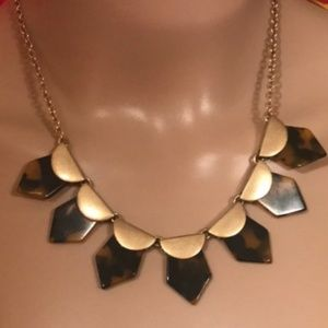 J.Crew tortoise shell necklace